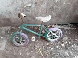 Bicicleta de niño sin rueditas