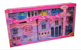 """CASA DE MUÑECAS """"PINK HOUSE"""""""
