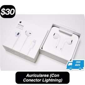 Auriculares (Con Conector Lightning)(iPhone/iPod/iPad)