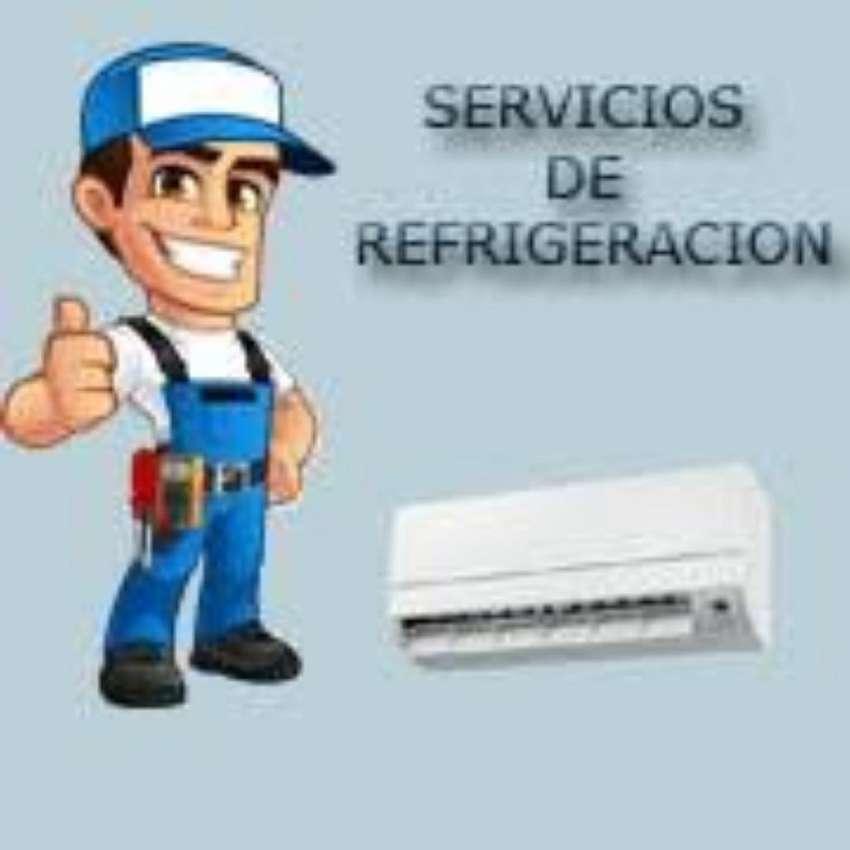 Carga de Gas .instalacion .limpieza .etc 0