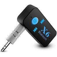 Receptor De Música Bluetooth Para Carro (manos Libres) X6 Incluye domicilio en bogota