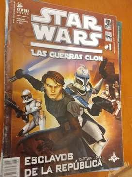 Star Wars Las Guerras Clon Lote De 3 Comics