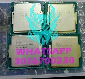 Procesadores intel i7 4790s y 4790 de 4ta generación