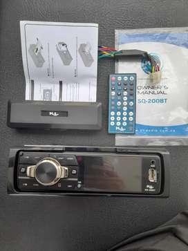 Radio para carro perfecto bluetooth y usb