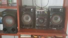 Se vende equipo sonido marca LG
