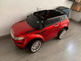 Carro electrico montable land rover juguete infantil