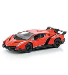 Lamborghini rojo con control remoto