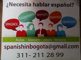 Español para extranjeros. Spanish as a foreign language, translations,