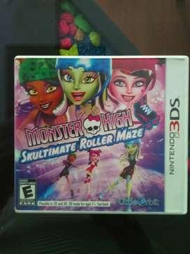 Nintendo 3DS - Monster High Skultimate Roller Maze