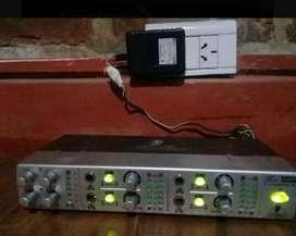 Amplificador  de auriculares berinher AMP800