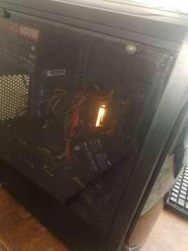 Pc AMD Ryzen 5 2600 - aorus b450 - 8gb ram - 1tb hdd- 250 gb sdd