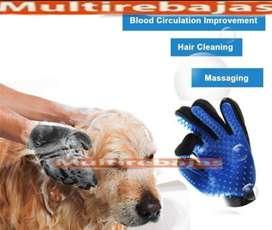 Guante para Baño de Mascota- Cepillo