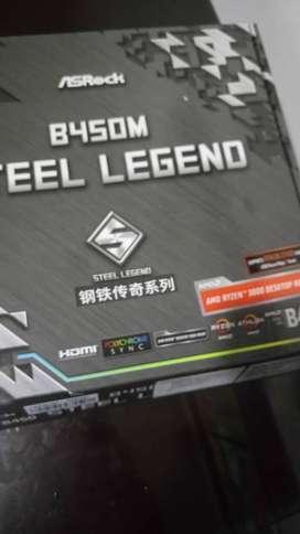 Board b450M steel legend - nueva