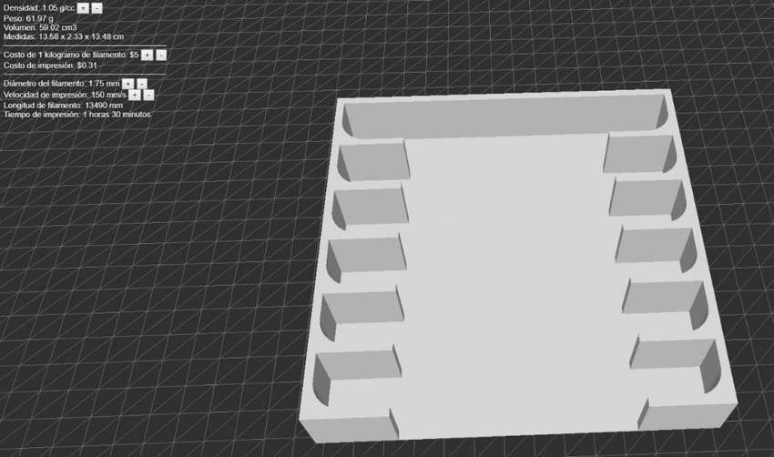 Servicio de Diseño Industrial Matrices 0