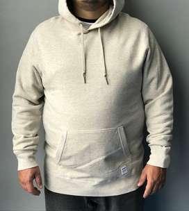 Buso Converse Essentials Luxe Pullover Hoodie In Beige