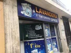 En venta lavandería de ropa