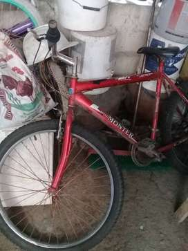 Bicicleta montero