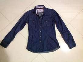 Camisa Jean /Dama Talla S