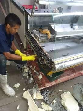 Servicio de mantenimiento  e infraestructuras a equipos de refrigeración(aire acondicionado,Neveras)