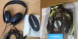 Audífonos Sennheiser HD202.  Diadema. Originales. Puede verificar calidad de sonido antes de comprar. HD 202