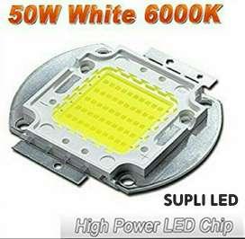 Led 50w Chip Blanco Cob 6400k Reflector
