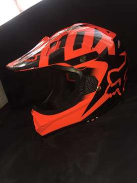 Casco mx fox naranja