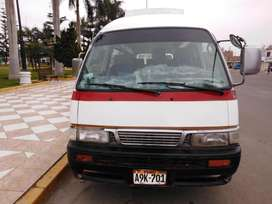 Venta de combi nissan caravan ao 2001