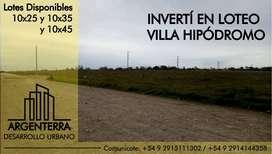 Terreno/Loteo Villa Hipodromo Bahia Blanca