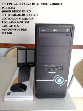 Cpu computadoras amd Intel nuevas, usadas