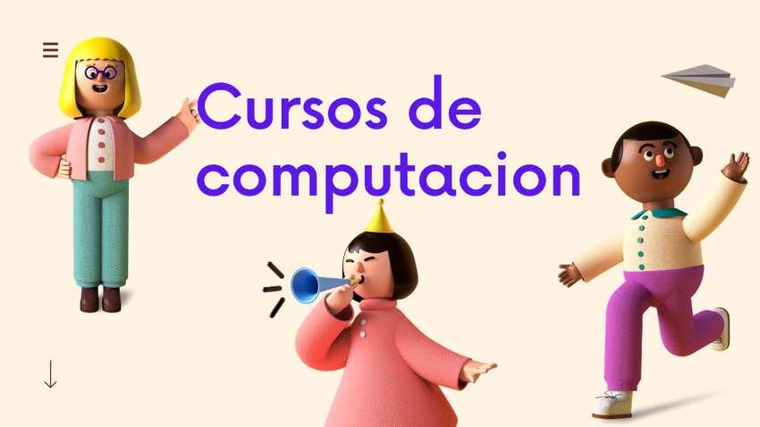 cursos computación