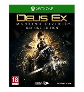 DEUS EX MANKIND DIVIDED DAY ONE EDITION - XBOX ONE