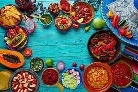 Chef Plancha para restaurante Mexicano