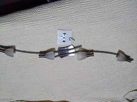 Aplique de 4 luces