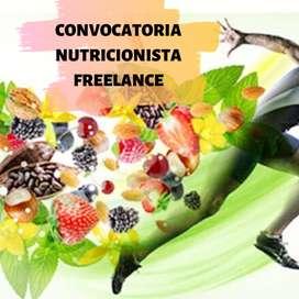 NUTRICIONISTA FREELANCE