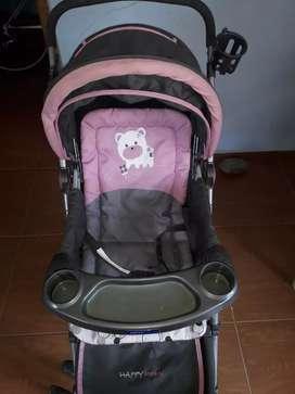 Se vende coche de bebé para niña