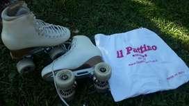 Vendo patines profesionales modalidad escuela número 36