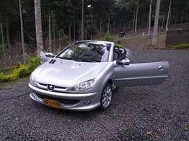 Peugeot  206 cabriolet convertible