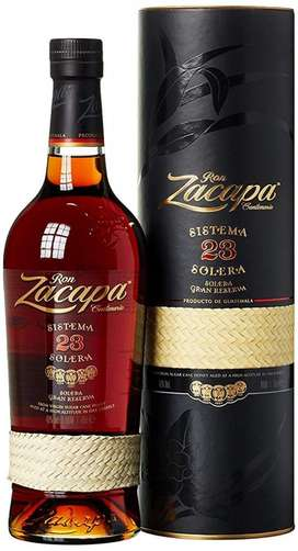 Ron Zacapa 23 Años botella 100 Original
