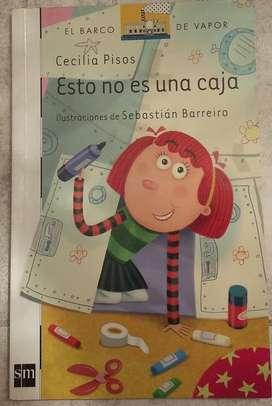 Vendo libro Esto no es una caja de Cecilia Pisos