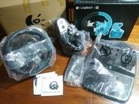 Logitech G27 + Caja de cambios