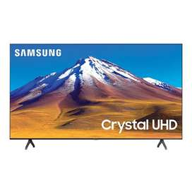 "TV SAMSUNG 70"" Pulgadas 177 cm 70TU7000 LED 4K-UHD Plano Smart TV"