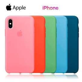 Funda Iphone Xr Apple Silicona Silicone Case Soft