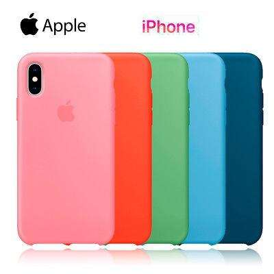 Funda Iphone Xr Apple Silicona Silicone Case Soft 0