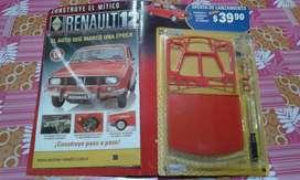 Faciculo de Renault 12 para Armar Nuevo