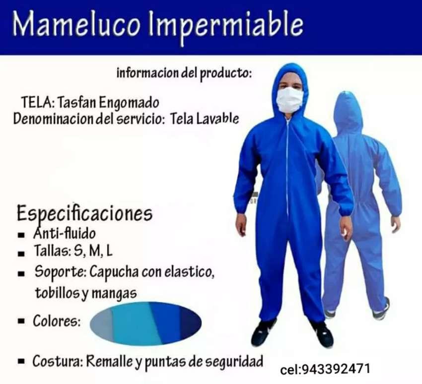 Mamelucos impermeables y protectores faciales 0