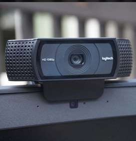 Camara logitech c920 webcam