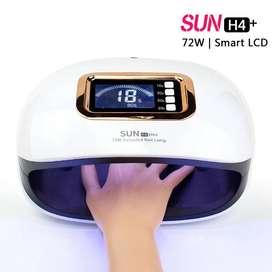 Lampara De Uñas Profesional 72w Sun H4 Plus 36 Led Uv Gel