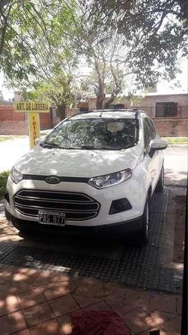 VENDO Ford Ecosport SE 1.6 primera mano GNC 5ta generación