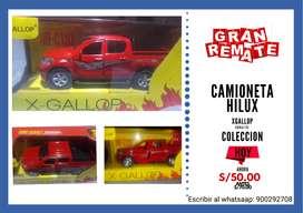CAMIONETA HILUX ESC 1:32 XGALLOP Rojo