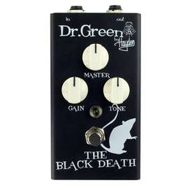 Pedal Dr Green THEBLACKDEAT Guitarra electrica Distorcion Music Box